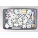 Double 6 Domino Tin Board Game - Image 2