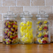 Set of 3 Vintage Airtight Glass Jars | M&W 990ml - Image 4