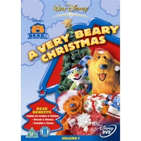 bear in the big blue house a very beary christmas dvd - Bear Inthe Big Blue House Christmas