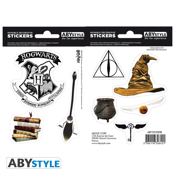 Harry Potter - Stickers - Magical Objects Mini Stickers