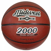 Midwest 2000 Basketball Tan Size 7
