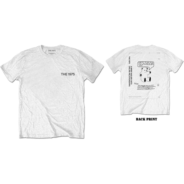 The 1975 - ABIIOR Teddy Men's Small T-Shirt - White