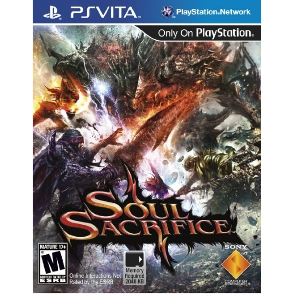 Soul Sacrifice Game PS Vita