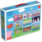 Peppa Pig 9 in 1 Bumper Pack Jigsaw Puzzles