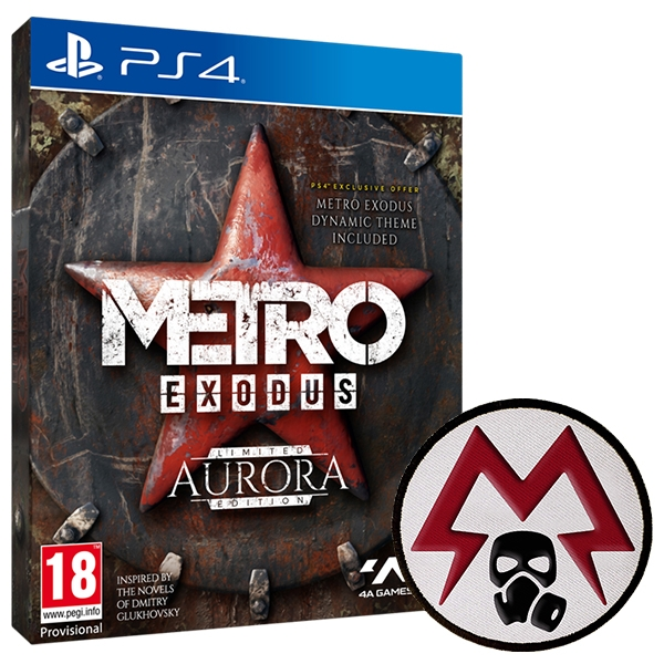 Metro Exodus Aurora Limited Edition PS4 Game + Patch
