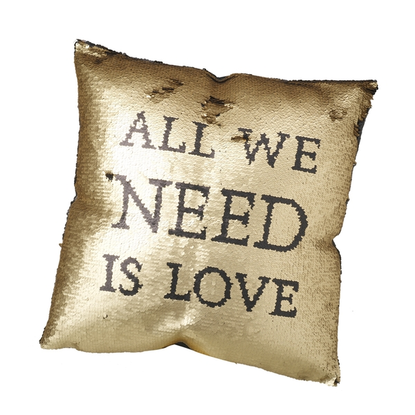All We Need Is Love Cushion By Heaven Sends