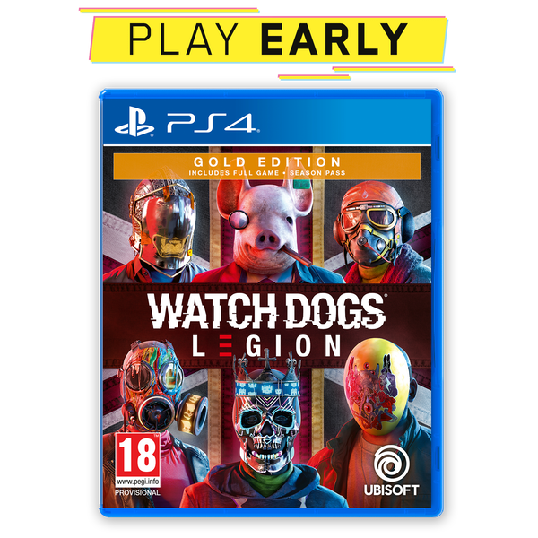 Watch Dogs Legion Gold Edition PS4 Game