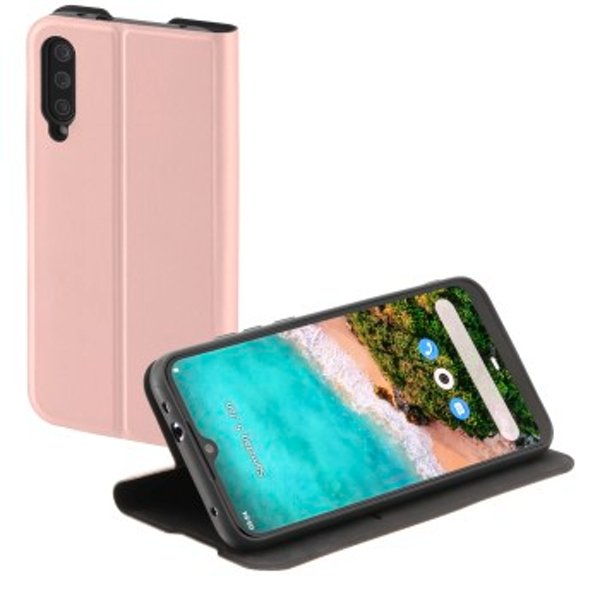 "Hama ""Single2.0 Booklet for Xiaomi Mi A3, pink"