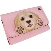 IMP Golden Retriever Pink Case Nintendo 3DS, DSi & DS Lite