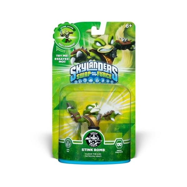 Stink Bomb (Skylanders Swap Force) Swappable Life Character Figure