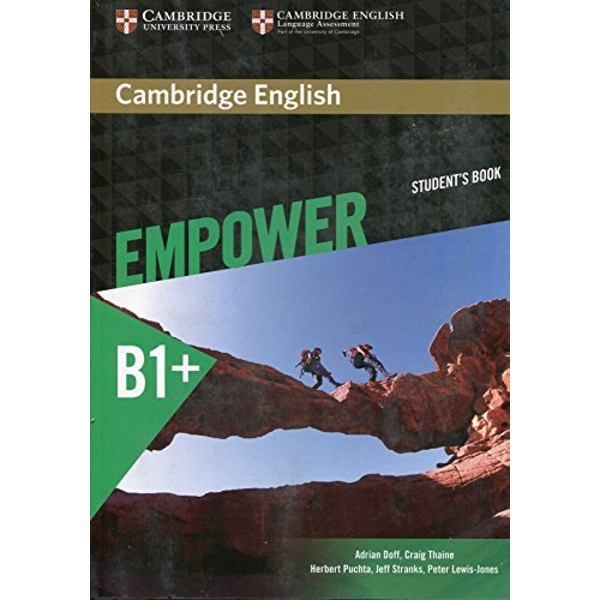 Cambridge English Empower Intermediate Student's Book by Jeff Stranks, Craig Thaine, Adrian Doff, Herbert Puchta, Peter Lewis-Jones (Paperback, 2015)