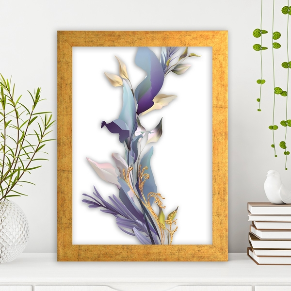 AC14815624822 Multicolor Decorative Framed MDF Painting