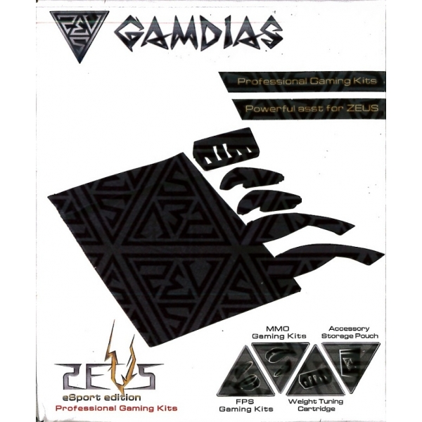 Gamdias GMS1100E ZEUS Laser Mouse Gaming Kit