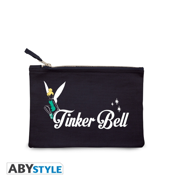 DISNEY - Tinker Bell - Blue Cosmetic Case