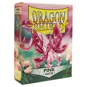 Dragon Shield Matte - Pink 60 Sleeves - 10 Packs