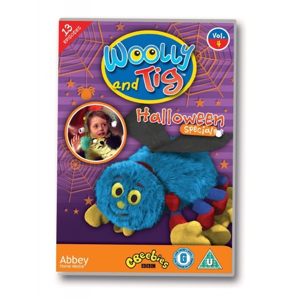 Woolly & Tig Vol 4 - Halloween Special DVD