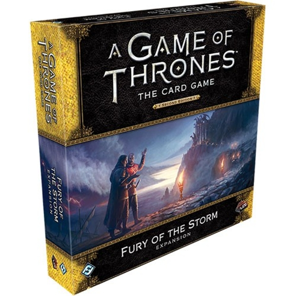 A Game of Thrones LCG (2nd Edition): Fury of the Storm Deluxe Expansion