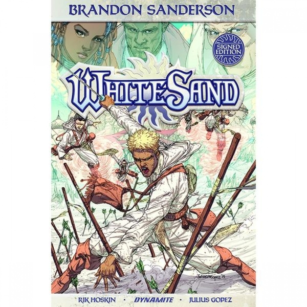 White Sand  Volume 1 Signed Edition Hardcover