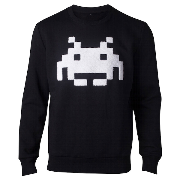 Space Invaders - Chenille Invaders Men's XX-Large Sweater - Black