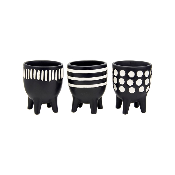 Sass & Belle Scandi Boho (Set of 3) Little Planters on Legs