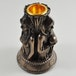 Three Witches Candle Stick Holder Ornament 10cm - Image 2