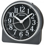 Beep Alarm Clock with Snooze (Black)