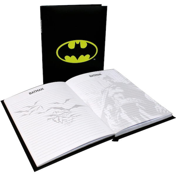 Batman Notebook With Light