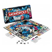 Ex-Display The Rolling Stones Monopoly Board Game Used - Like New