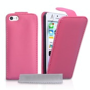 YouSave Accessories iPhone 5 / 5s PU Leather Flip Case - Hot Pink