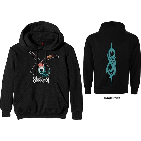 Slipknot - Graphic Goat Unisex Medium Pullover Hoodie - Black