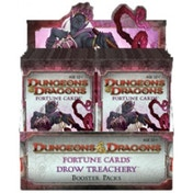 Dungeons And Dragons Fortune Cards Drow Treachery Trading Cards - 24 Packs