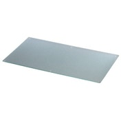 Xavax Glass chopping board, clear, 52 x 30 cm