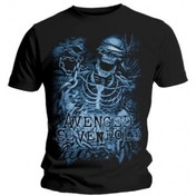 Avenged Sevenfold Chained Skeleton Black T Shirt Small