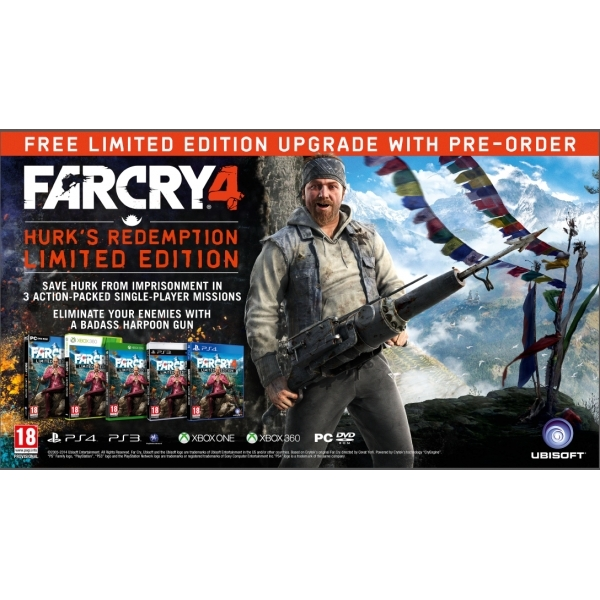 Far Cry 4 Limited Edition PC CD Key Download for uPlay
