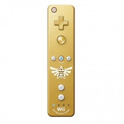 The Legend Of Zelda Skyward Sword Gold Wii Remote