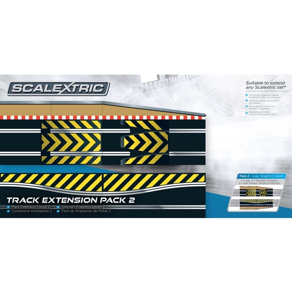 Leap & Chicane Track Extension Pack 2 Scalextric Accessory Pack