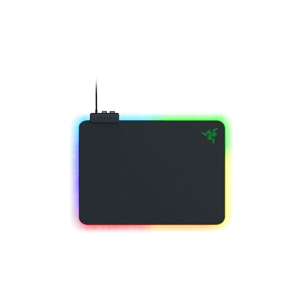 Image of Razer Firefly V2 Micro Textured Gaming Mouse Mat with RGB Lighting Powered by Chroma