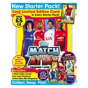 EPL Match Attax 2017/18 Trading Card Game Starter Pack