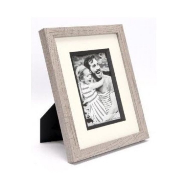 Grey Wood Picture Frame 4x6