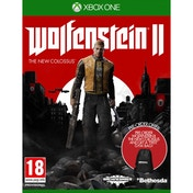 Wolfenstein II The New Colossus Xbox One Game (with Wolfenstein 2 Gym Bag)