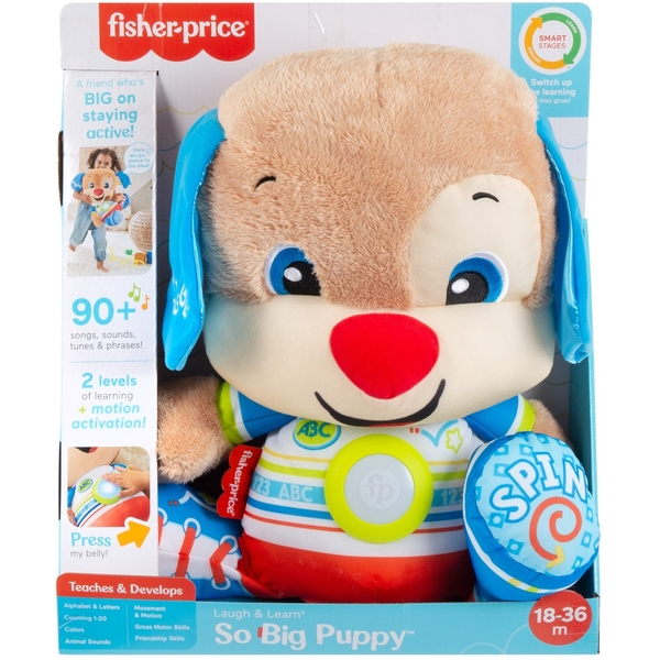 Fisher Price Laugh & Learn So Big Puppy
