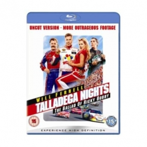 Talladega Nights The Ballad Of Ricky Bobby Blu-Ray - Image 1