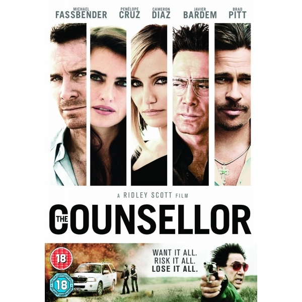 The Counsellor DVD (2017)