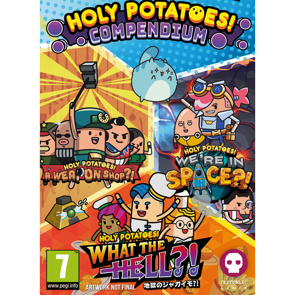 Holy Potatoes Compendium Badge Collector's Edition Nintendo Switch Game