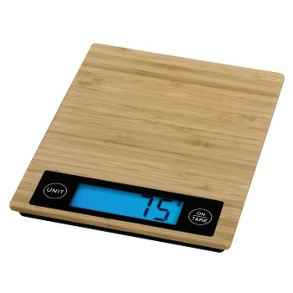 "Xavax ""Philina"" Kitchen Scales, bamboo"
