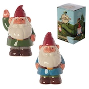 Ceramic Garden Gnome Money Box (1 Random Supplied)