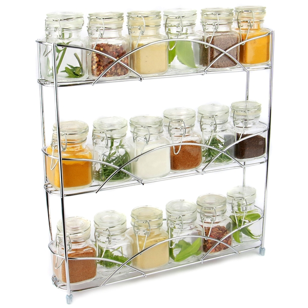 3 Tier Herb & Spice Rack | M&W Chrome IHB Australia (NEW)