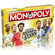 World Football Stars Gold Edition Monopoly Board Game