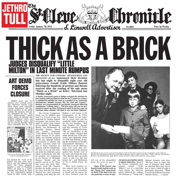 Jethro Tull - Thick As A Brick Vinyl