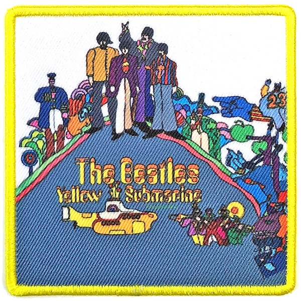 The Beatles - Yellow Submarine Album Cover Standard Patch